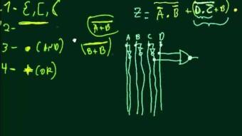 Eletrônica Digital #36 – Conversão Expressão booleana para circuito lógico Parte II