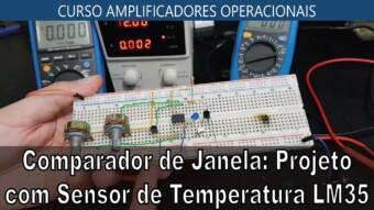 #37 Comparador de Janela com Sensor de temperatura
