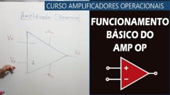 #12 – Funcionamento Básico do Amplificador Operacional (AOP)