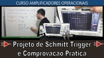 #42 Projeto de Schmitt Trigger e Osciloscópio