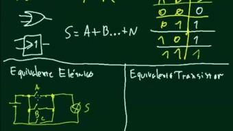 Eletrônica Digital #30 – Equivalente Elétrico e Transistorizado da Porta Lógica OU