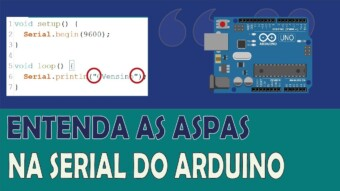ARDUÍNO #36: ENTENDA AS ASPAS NO MONITOR SERIAL