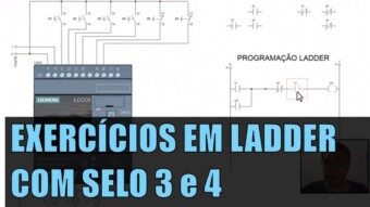 CLP #35 – EXERCÍCIOS EM LADDER COM SELO (3 e 4)