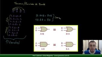 Eletrônica Digital #52: Teoremas de Boole com mais de uma variavel