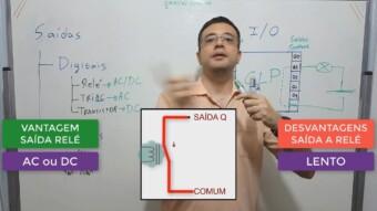 CLP #9 – Saídas Digitais: Relé x Triac x Transistor. Sink x Source