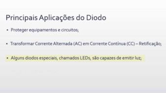 Aula 8 – Principais Aplicações do Diodo