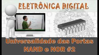 Eletrônica Digital #63: Universalidade da Porta NOR (Não-OU)