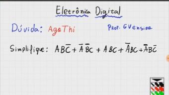 Eletrônica Digital #65: Simplificando Expressão Lógica Booleana (Exercício)