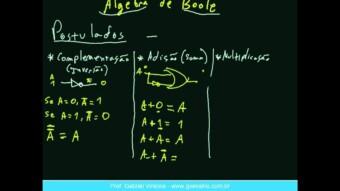 Eletrônica Digital #46 – Introdução à Algebra de Boole
