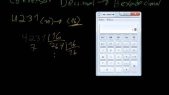 Eletrônica Digital #15 – Conversão Decimal  Hexadecimal