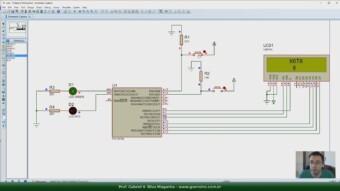 Operadores Relacionais e Exercício com Variáveis, LCD e Botoes