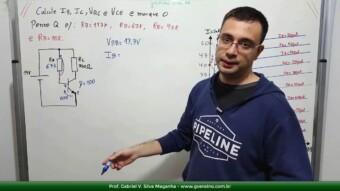 Transistor #22 – Cálculos do Transistor e do Ponto Q na Reta de Carga