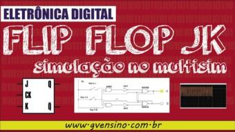 Eletrônica Digital II: #15 Simulação Flip Flop JK no Multisim