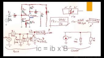 Amplificador Transistorizado EC – Analise AC