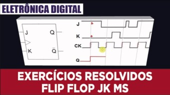 Eletrônica Digital II: #21 Exercícios Resolvidos com Flip Flop JK MS