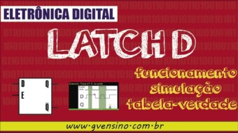 Eletrônica Digital II: #11 Conheça o Latch D