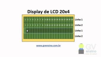 CCS PIC C – Comando lcd gotoxy e usando displays LCD 20×4